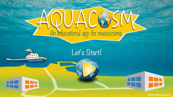 AQUACOSM Mesocosm App