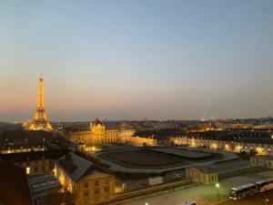 UNESCO rooftop view over Paris