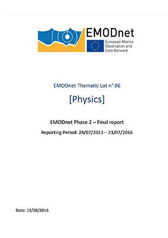 EMODnet Physics Phase-2 Report 2016